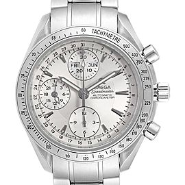 Omega Speedmaster Day Date Chrono Silver Dial Watch 3221.30.00