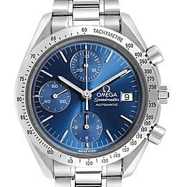 Omega Speedmaster Date Blue Dial Steel Mens Watch 3511.80.00