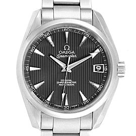 Omega Seamaster Aqua Terra Grey Dial Mens Watch 231.10.39.21.06.001 Card