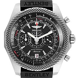 Breitling Bentley Super Sports Rubber Strap Mens Watch E27365 Box