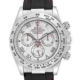 Rolex Cosmograph Daytona White Gold Meteorite Dial Mens Watch 116519