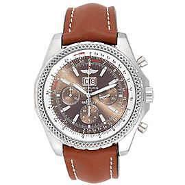 Breitling Bentley Motors Chronograph Bronze Dial Mens Watch A44362