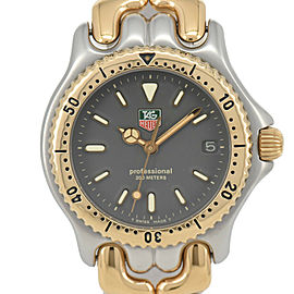 TAG Heuer S/el S95.213M Stainless & Gold Plated Quartz Boy's Watch