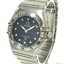 OMEGA 12PD Constellation Stainless Steel Mini My choice Wrist watch