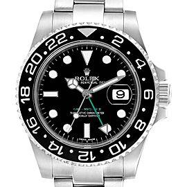 Rolex GMT Master II Ceramic Bezel Mens Watch 116710 Box Card