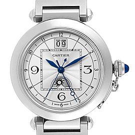 Cartier Pasha XL Big Date MoonPhase Steel Mens Watch W31093M7