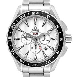 Omega Seamaster Aqua Terra GMT Steel Mens Watch 231.10.44.52.04.001