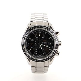 Omega Speedmaster Date Chronograph Chronometer Automatic Watch Watch Stainless Steel 40
