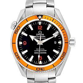 Omega Seamaster Planet Ocean Orange Bezel Automatic Watch 2209.50.00
