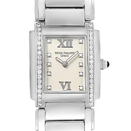 Patek Philippe Twenty-4 Diamond Ladies Quartz Watch 4910/10A-010