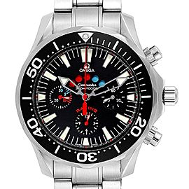 Omega Seamaster Regatta Racing Americas Cup Watch 2569.50.00 Box Card