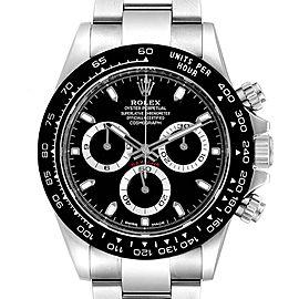 Rolex Daytona Ceramic Bezel Black Dial Chronograph Mens Watch 116500