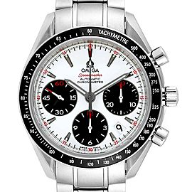 Omega Speedmaster Day Date White Dial Watch 323.30.40.40.04.001