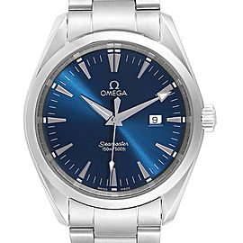 Omega Seamaster Aqua Terra Blue Dial Steel Mens Watch 2517.80.00