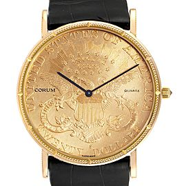 Corum 20 Dollars Double Eagle Yellow Gold Coin Mechanical Mens Watch