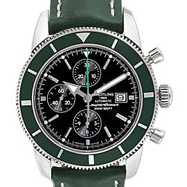 Breitling SuperOcean Heritage Limited Edition Green Bezel Watch A13320