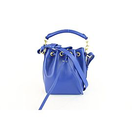 Saint Laurent Blue Classic Small Emmanuelle Bucket 2way 1MZ0130