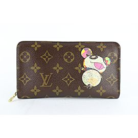 Louis Vuitton Monogram Murakami Panda Zippy Long Wallet 230551