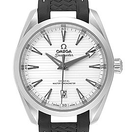 Omega Seamaster Aqua Terra Silver Dial Watch 220.12.38.20.02.001 Box Card