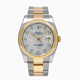 Rolex Datejust 116203 36mm Unisex Watch