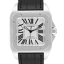Cartier Santos 100 Steel Midsize Mens Watch W20106X8