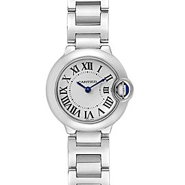 Cartier Ballon Blue 29 Silver Dial Quartz Ladies Watch W69010Z4
