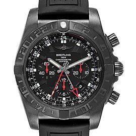 Breitling Chronomat GMT PVD Limited Edition Mens Watch MB0413 Box Papers