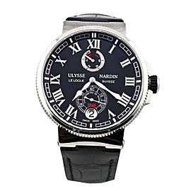 Ulysse Nardin 1183-126/42 Marine Chronometer Manufacture 43mm Mens Watch