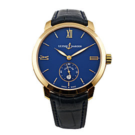 Ulysse Nardin 3206-136-2/33 Classico Rose Gold 40mm Mens Watch