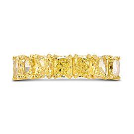 Leibish 18K Yellow Gold with 2.97ctw Diamond Band Ring Size 5.5