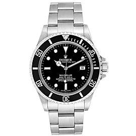 Rolex Sea-dweller Black Dial Automatic Steel Mens Watch 16600