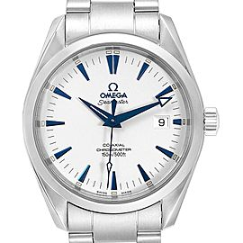 Omega Seamaster Aqua Terra Blue Hands Steel Mens Watch 2503.33.00
