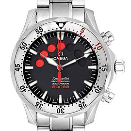 Omega Seamaster Apnea Jacques Mayol Watch 2595.50.00 Card