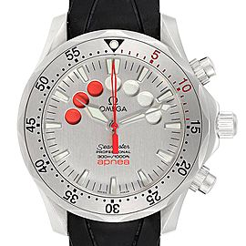 Omega Seamaster Apnea Jacques Mayol Silver Dial Mens Watch 2595.30.00