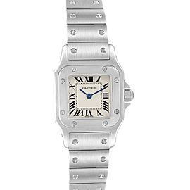 Cartier Santos Galbee Small Steel Ladies Watch W20056D6