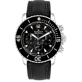 Blancpain Fifty Fathoms Flyback Flyback Chronograph Mens Watch 5085F