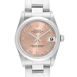 Rolex Datejust 31 Midsize Salmon Dial Ladies Watch 78240 Box Papers