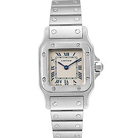 Cartier Santos Galbee Stainless Steel Quartz Ladies Watch 1565