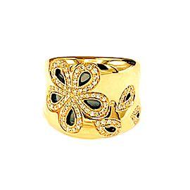 Roberto Coin Fantasia Diamond Daisy Wide Ring