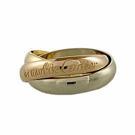 CARTIER 18k Gold Trinity ring CHAT-1009