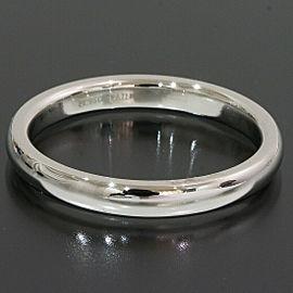 Tiffany & Co. Platinum Simple Wedding Band Ring TNN-1684