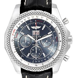 Breitling Bentley 6.75 Speed Chronograph Blue Dial Mens Watch A44364