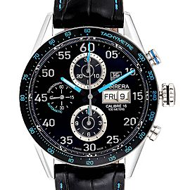 Tag Heuer Carrera Day Date Limited Edition Mens Watch CV2A1C Box Card