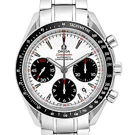 Omega Speedmaster Day Date White Panda Dial Watch 323.30.40.40.04.001