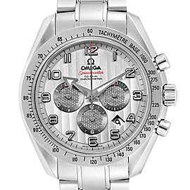 Omega Speedmaster Broad Arrow Silver Dial 321.10.44.50.02.001 Box