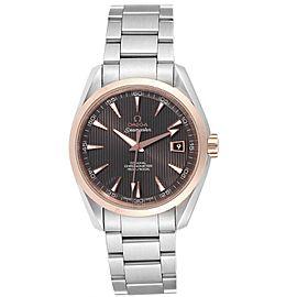 Omega Seamaster Aqua Terra Steel Rose Gold Watch 231.20.42.21.06.002