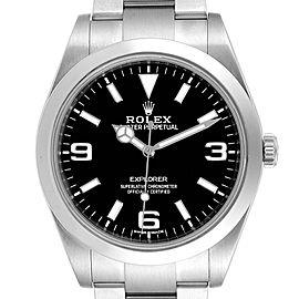 Rolex Explorer I 39 Luminescent Arabic Numerals Mens Watch 214270