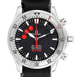 Omega Seamaster Apnea Jacques Mayol Black Dial Watch 2595.50.00