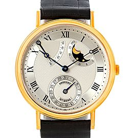 Breguet 3137BA/11/986 Classique Power Reserve Moonphase Yellow Gold Watch