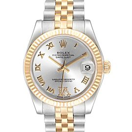 Rolex Datejust Midsize 31mm Steel Yellow Gold Ladies Watch 178273